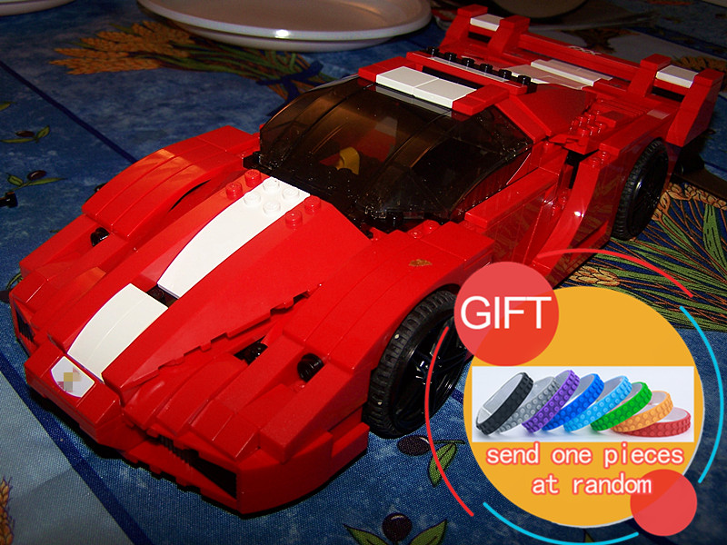 21009 632pcs FXX 1:17 Technical Racing sports car super car set model building Block boy gift Compatible with 8156 toys lepin in stock new lepin 21009 fxx 1 17 toy building blocks 632pcs technic racing sports car supercar model boy gift compatible 8156