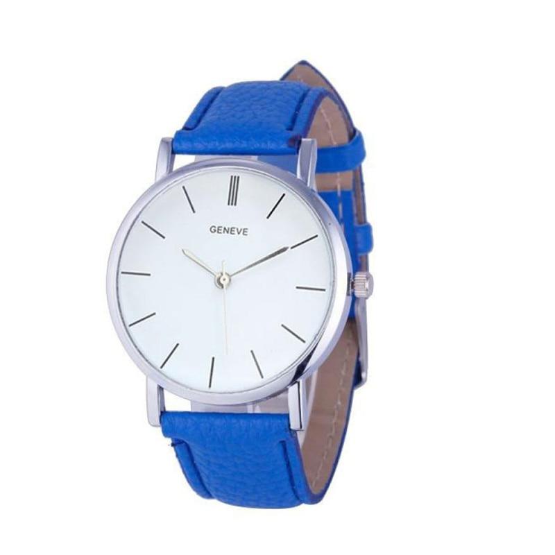 2017 Relogio Feminino Zegar Splendid Nowy Kobiet Retro Design Skórzany pasek Analogowy Stop Wrist Watch Quartz Kobiety Hot Dropship 614