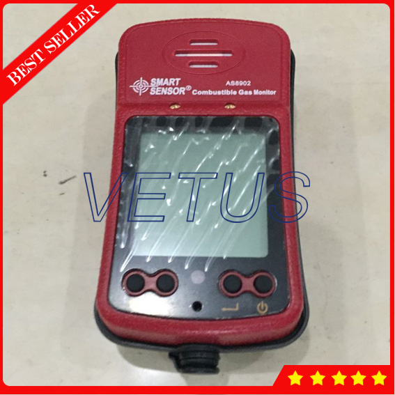 AS8902 Digital Coal analysis equipment with Portable Digital Combustible Gas Detector LEL 0-100% coal handling and equipment selection