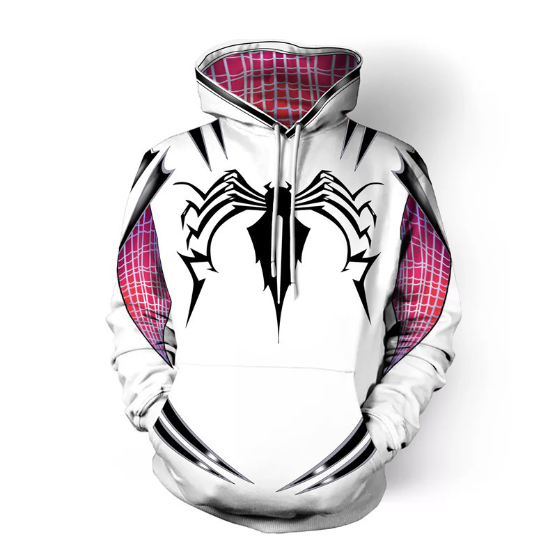 Capucha Stacy Sudaderas c Spider Sudaderas Con A Para Casual Cosplay gwen  Disfraz Hombre Mujer b ... ae9a9cc2bf3c