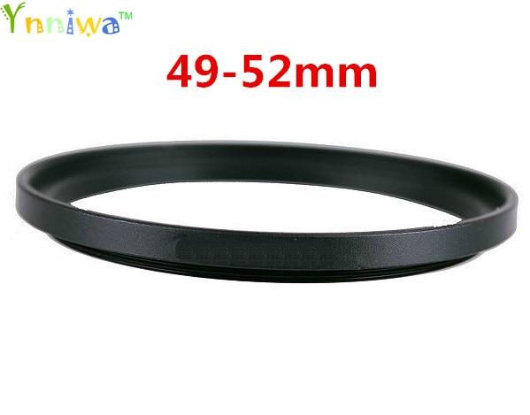 49-52mm Metal Step Up Rings Lens Adapter Filter Set