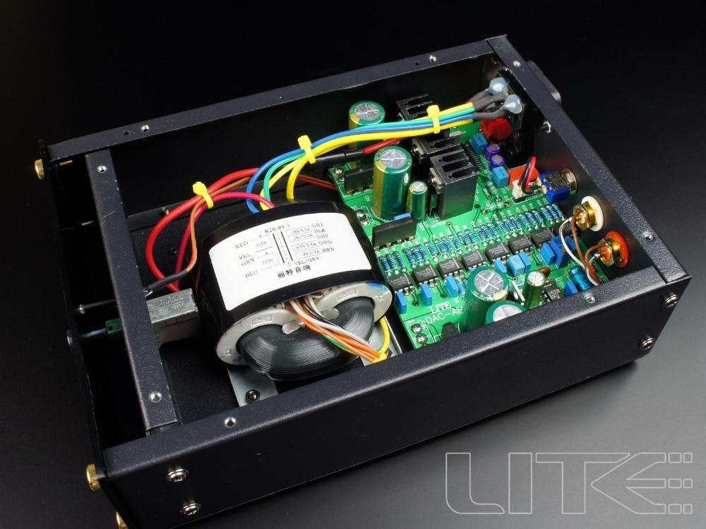 HOT sale LITE Audio DAC-AH D/A converter,Processor, TDA1543 x8 entombed a d entombed a d dead dawn audio mc