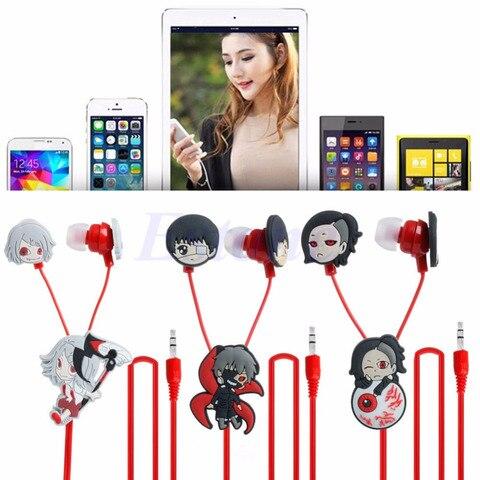 Anime Tokyo Ghoul Kaneki Ken Earphone Cute Earbuds Headphones Headset Cosplay Pakistan