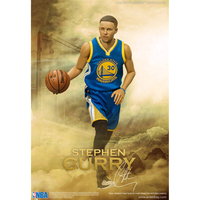 XINDUPLAN Stephen Curry NBA Champs Golden State Warriors 30 MVP Action Figure Toys 1 6 34cm