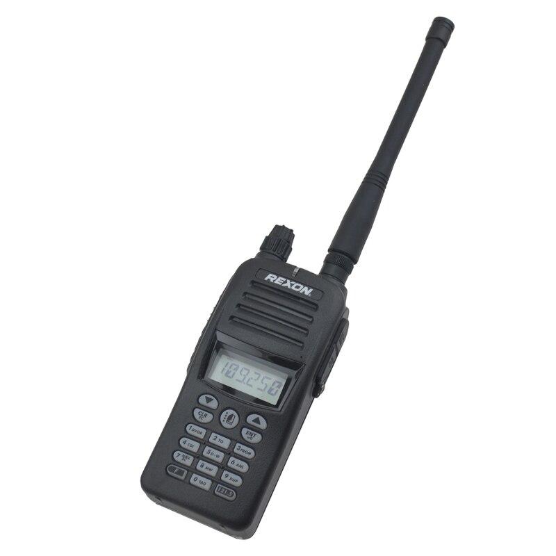 TX 118 000 136 975MHz RX 108 000 136 975MHz VHF AIR BAND Portable Two way