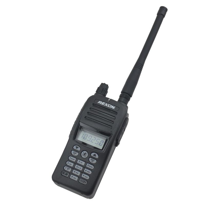 TX 118.000-136.975MHz, RX 108.000-136.975MHz VHF AIR BAND Portable Two-way Radio Air Band Walkie Talkie Radio RHP-530E