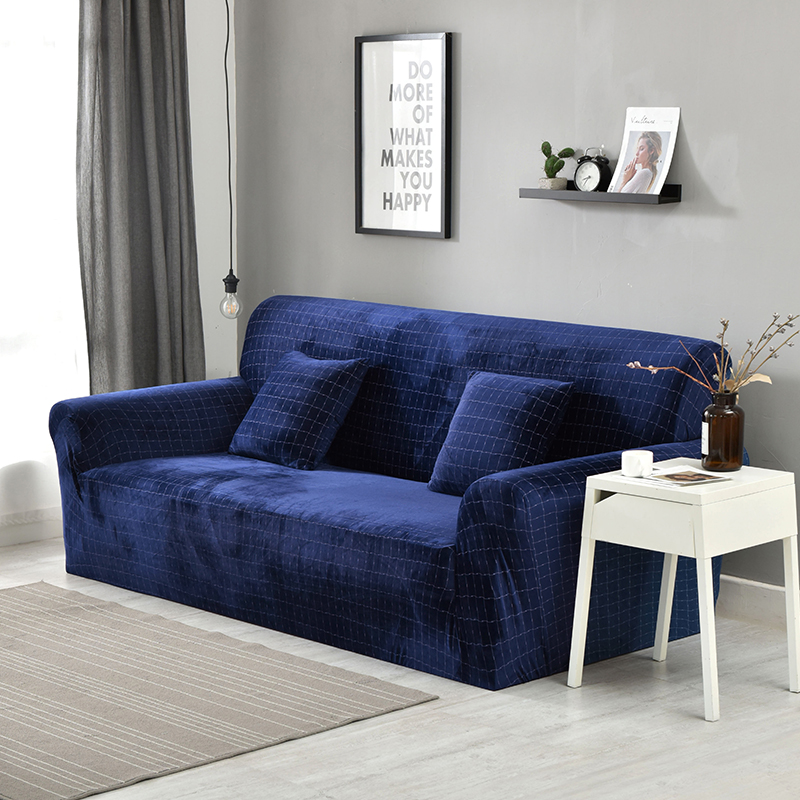 US $35.69 49% OFF|Elegant Modern Sofa Cover Spandex Elastic Polyester  Floral 1/2/3/4 Seater Couch Slipcover Chair Living Room Furniture  Protector-in ...
