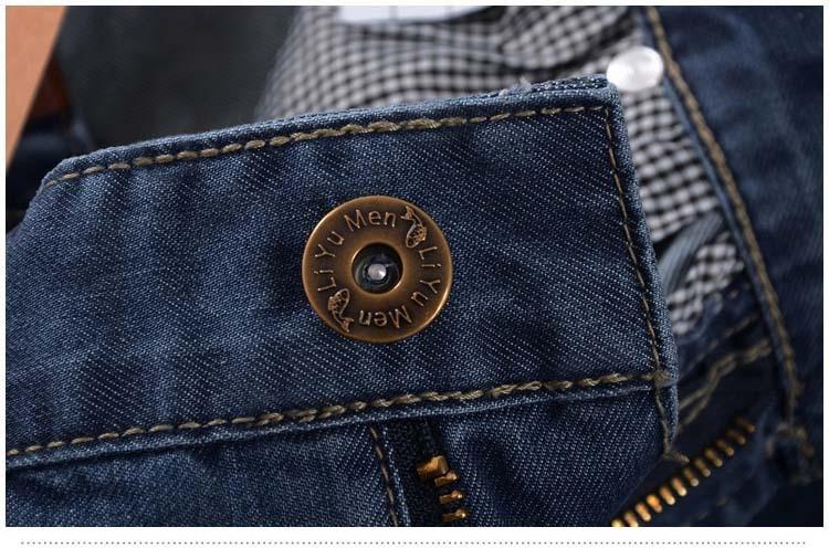 New Arrivals Men Short Jeans New Classic Straight Summer Fashion Cotton Short Men Jeans