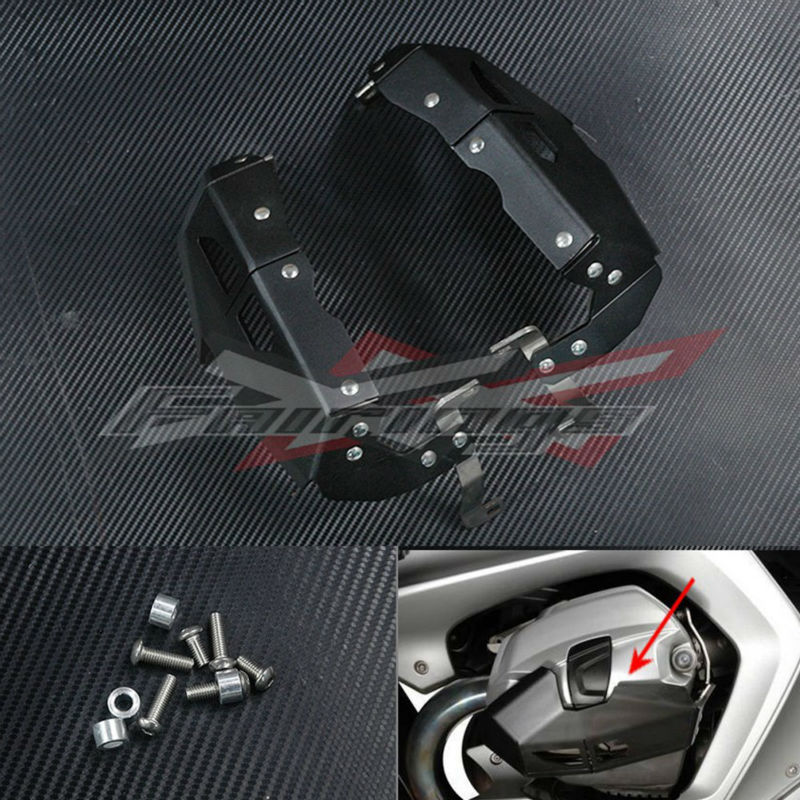 Cylinder Head Guards Protector Cover Silver For BMW R1200GS ADV RT 2010-2013 женские брюки brand new a g 2015 25