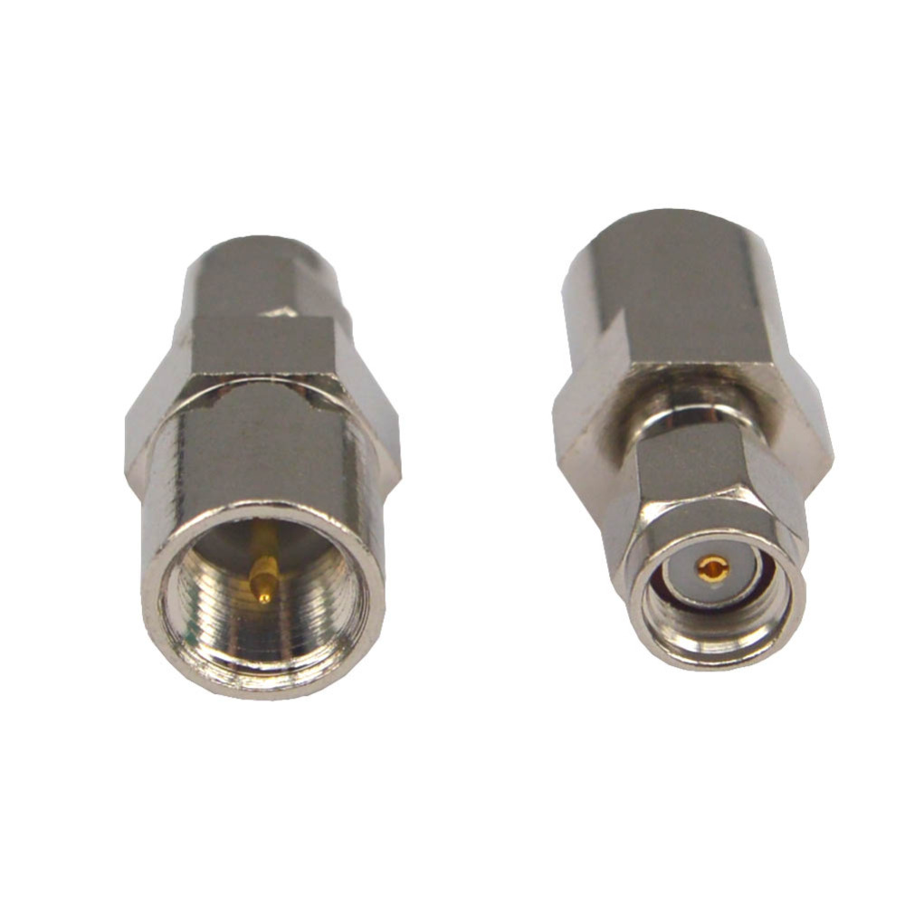 RP SMA Male To FME Male Straight RF Coaxial Adapter Connector FME To SMA Adapter