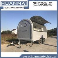 Трейлер для перевозки продуктов еда грузовик продуктовая тележка Turk мобильный кухня серый 3400x2000x2300 мм
