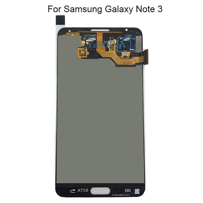 AMOLED LCD pour SAMSUNG Galaxy Note 3 LCD écran tactile numériseur N9002 N9006 N9000 N900A Note3 N9005 LCD écran assemblée