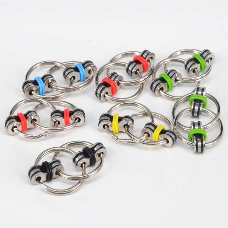 Высокоскоростной Спиннер 1 шт. ручной 2018 вращения кольцо для ключей игрушечные лошадки Спиннеры Металл Brinquedo Menina ручной Spinner металл