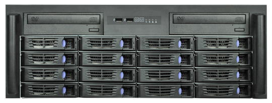 4U R4316 16 font b disk b font hot swap service box 16 hard font b
