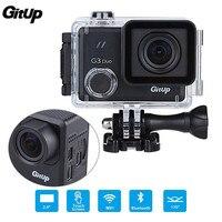 GITUP G3 Duo гироскопа 2160 P WI FI Водонепроницаемый действие Камера Сенсорный экран 170 градусов Внешний микрофон оригинального пульта ДУ Управлени