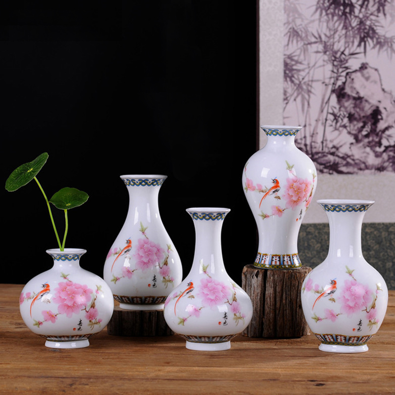 Yefine vintage home decor ceramic flower vases for homes antique traditional chinese blue and - Great decorative flower vase designs ...