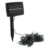 La Energía Solar 200 LED Luz de Hadas De la Navidad Del Banquete de Boda Decoración de Jardín Lámpara Verde