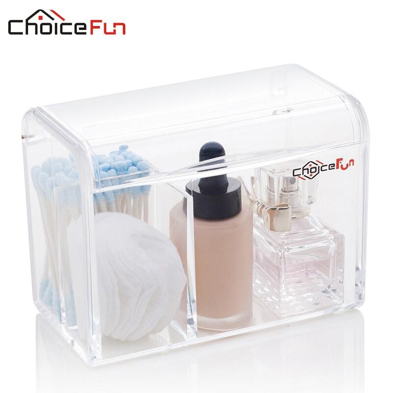 Stick-Pad Organizer Storage-Container Makeup-Case Acrylic Cotton New Waterproof FUN CHOICE