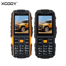 XGODY A9 Rugged Waterproof Shockproof Phone MTK FM Bluetooth 4800mAh Flashlight GSM Unlocked Dual SIM Mobile Phone