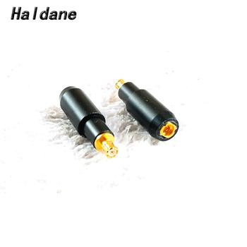 Free Shipping Haldane one pair Headphone Plug for ESW750 ESW950 ES770H 990H Male to MMCX Female Converter Adapter