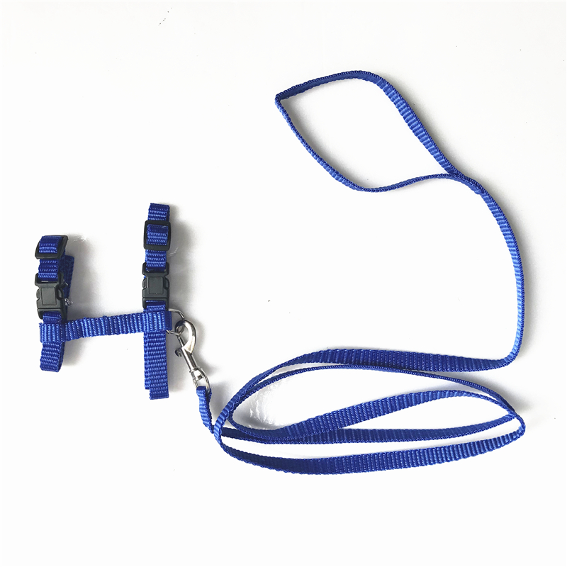 Nylon Pet Cat Harness And Leash Products For Cat Vest Adjustable Comfort Soft Pet Harness Pets Belt Accessories For Cat Collar #5
