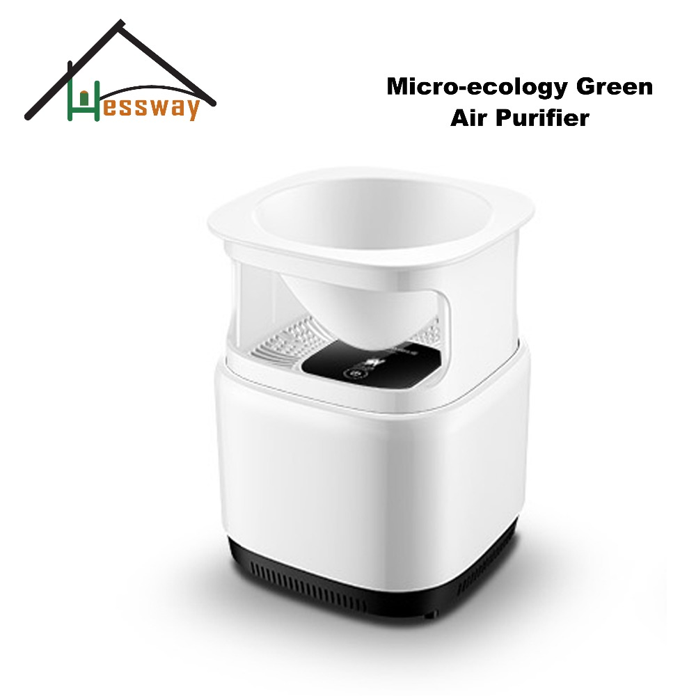 ozone air purifier desktop Micro-ecology Green air cleaner for hepa filter цены