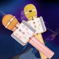 Original Fashion WS858 Bluetooth Wireless Condenser Magic Karaoke Microphone Mobile Phone Player MIC Speaker Record Music