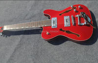 Customised version, guitar jazz guitar. Red. Color can be customized. Real photos, factory wholesale