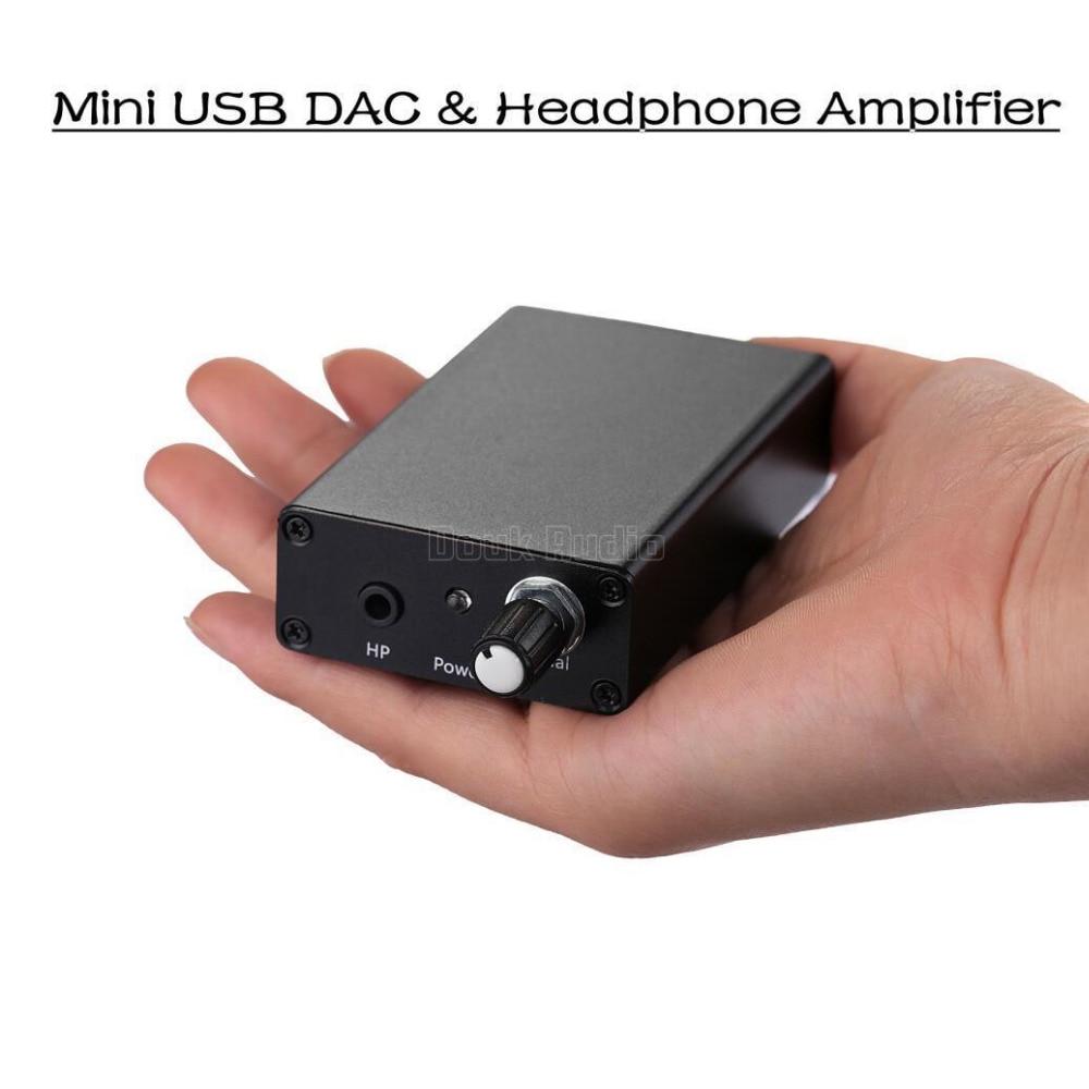 2017 New Nobsound HiFi Mini TDA1305T USB DAC Audio Decoder Amplifier PC Sound Card 2017 new nobsound hifi mini microphone preamplifier music sound card recording mic amplifier