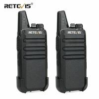 2 pcs Retevis RT22 Walkie Talkie Mini Transceiver UHF 2W VOX CTCSS/DCS USB Charging Handy Two Way Radio Communicator Woki Toki