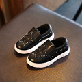 Boys Girls PU Casual leather Shoes Children Shoes Sneakers Fashion Light Flat Loafers Kids Breathable School