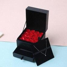 Романтическая роза медведь игрушка для женщин девушки Мыло Цветок День рождения Свадебные украшения вечерние юбилей день Святого Валентина подарок для девушки