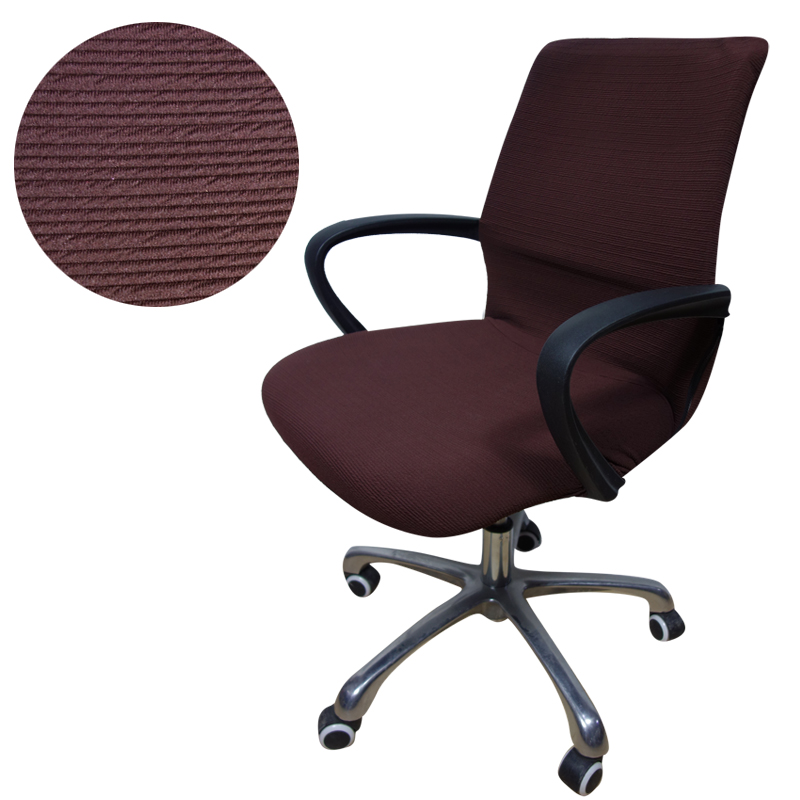 aliexpress : buy jacquard stripe computer office chair cover
