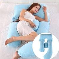 Breastfeeding Pregnant Women U Shape 2019 New Bedding Cushion Pregnancy Side Sleeper Pillow Full Body Maternity Sleeping Pillow
