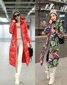 Зимой материнства женщин ватные куртки женщины долго верхняя одежда вниз хлопка-ватник женщин парки плюс размер 4xl