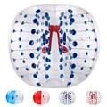 Fútbol burbuja Bola de Diámetro 1 M de Parachoques Inflable Burbuja Humana Bolas de Juguete Deporte Al Aire Libre
