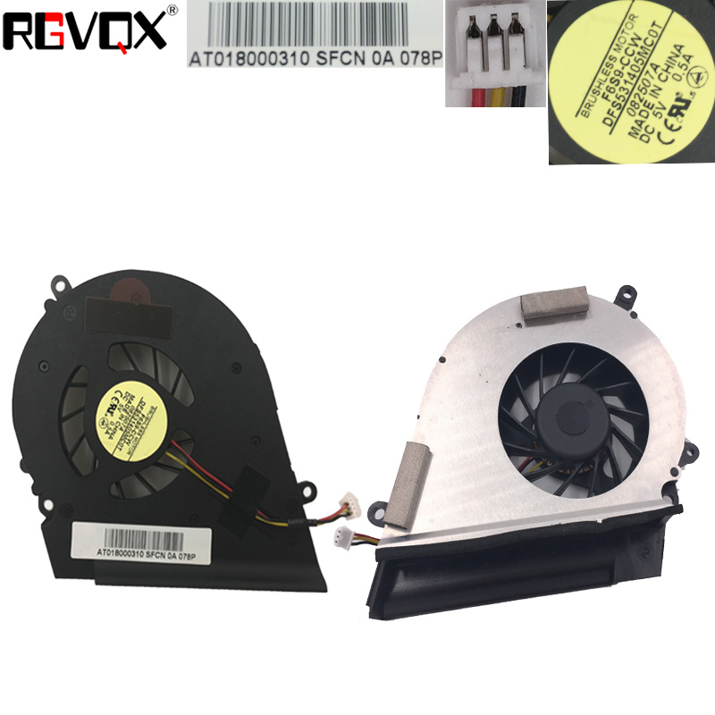 Купить с кэшбэком New Laptop Cooling Fan For TOSHIBA Satellite A200 A205 A210 A215 L450 L450D L455 L455D For Intel Integrated graphics