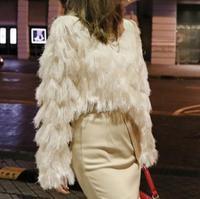 2018 New Fashion Sexy Knitwear Top Layered Tassels Women Sweater Long Sleeve Pullover Mujer Chandail Korean Sweater Jumper