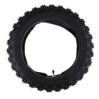 Rubber Motorcycle Tyre & Inner Tube Set 2.50 10 forYamaha PW50 PW 50 pneu de moto Neumatico de moto Motor Parts