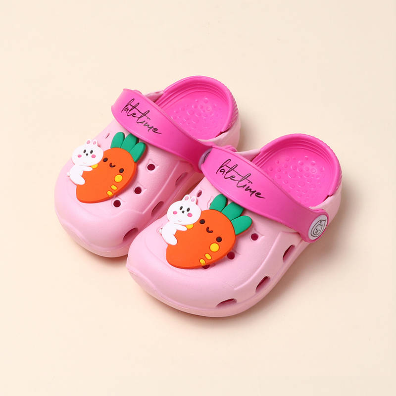 Cute Summer Garden Shoes Baby Sandals Girls Child Beach Slippers Shoes Lightweight Indoor Toddler Kids Slippers Drop Shhipping