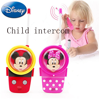 Disney Childrens Toy Intercom Outdoor Wireless Call Handheld Boy Girl Talkback Telephone