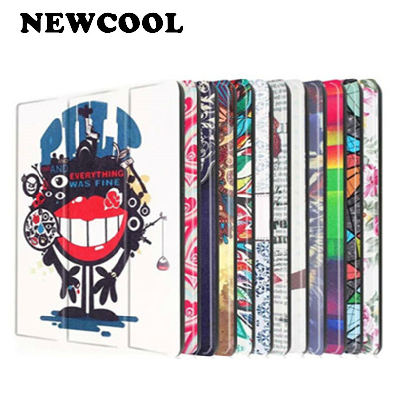 Tab 2 A10-70 Colorful Print Leather Case Cover for Lenovo Tab 2 a10-30 X30F X30L Magnet Case For LENOVO TAB 10 TB-X103F +Film opk biker stainless steel men bracelet