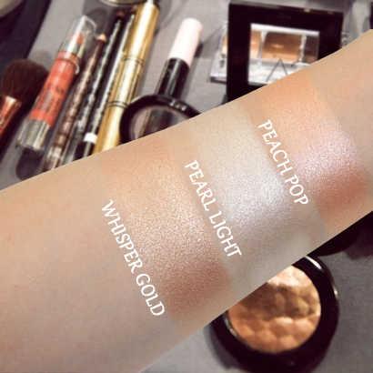 IMAGIC Highlighter Pulver Mode Frauen Bronzer pulver Hohe leichter Pulver make-up professionelle aufhellung gesichts kontur 1 stücke