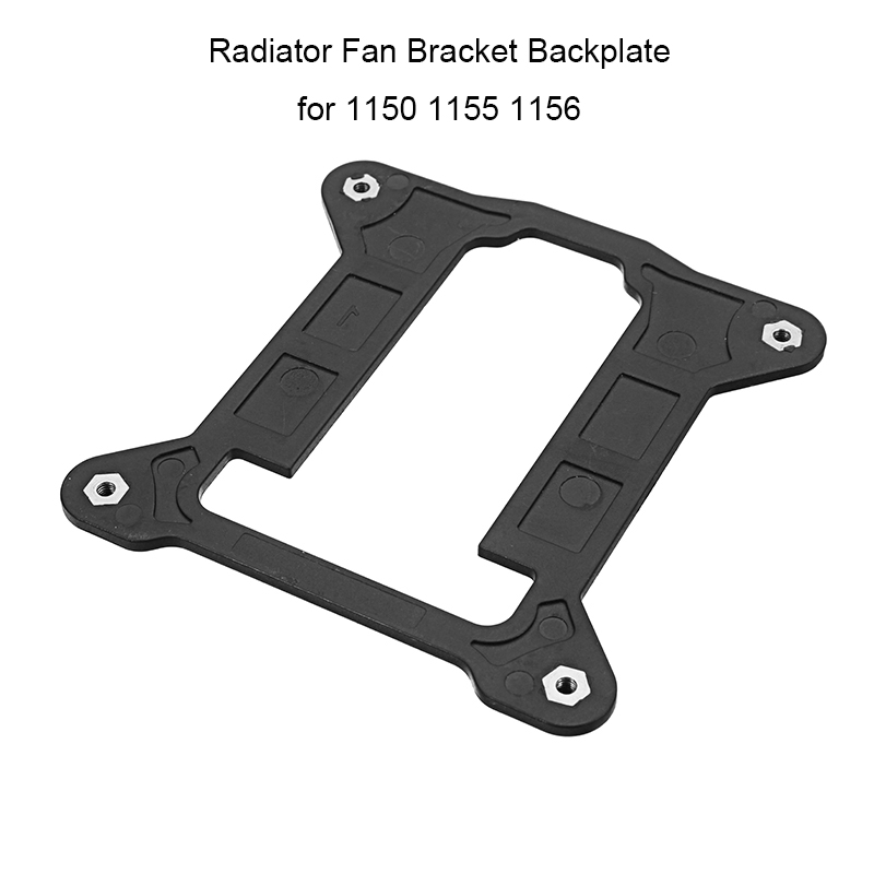 Computer CPU Fan Bracket for Intel 1150 1155 1156 Heatsink Radiator Backplane Motherboard Base Cooling Fan Holder High Quality high quality 1u server cpu cooler radiator heatsink for intel 1150 1155 1156 i3 i5 i7 cooling