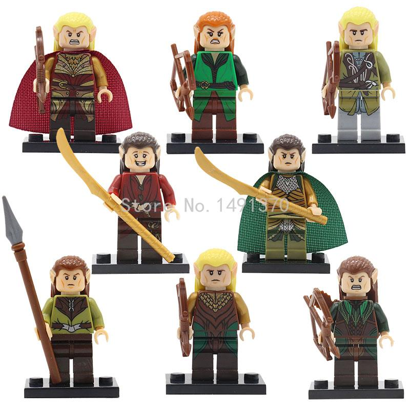 The Hobbits Figures Single Sale Wraith Rider Rohan Bowman Mordor Orc Lord of the Rings Boromir