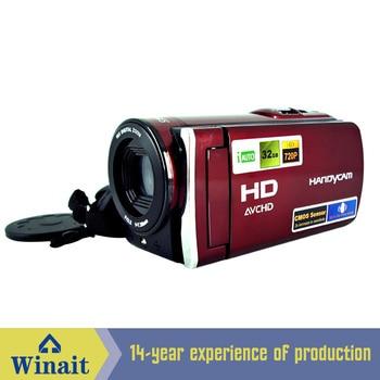 5.1M CMOS digital video camera HDV-666 12mp 16X digital zoom photo camera 720p hd digital video camcorder