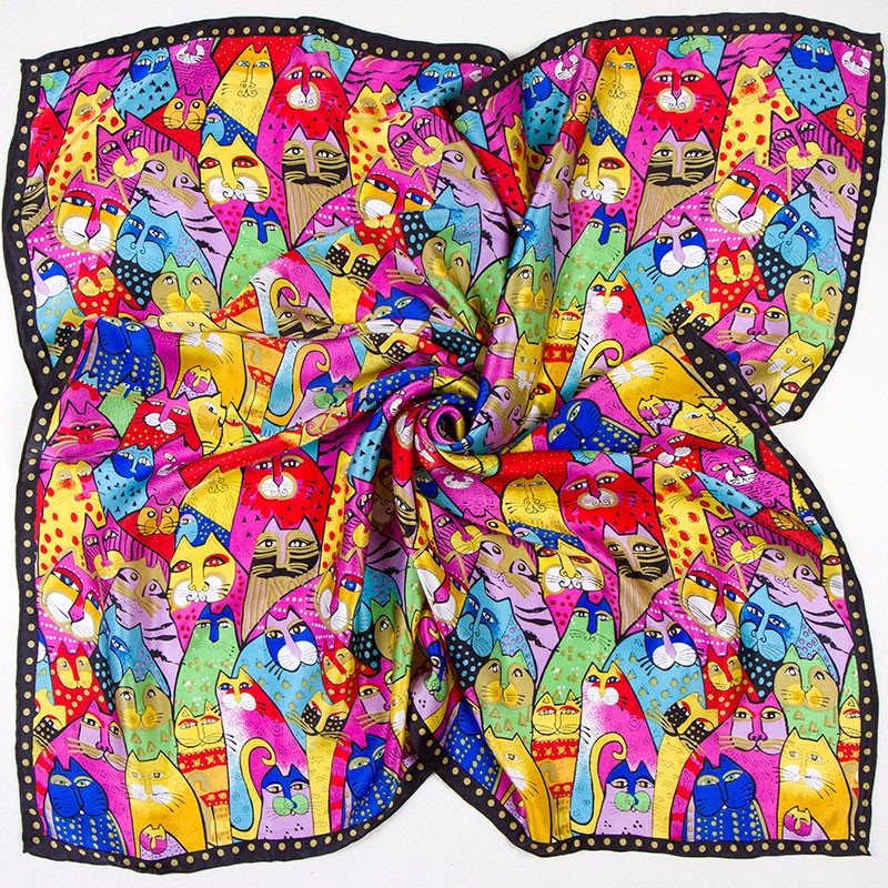 silk-scarf-85cm-01-colorful-cats-1-2