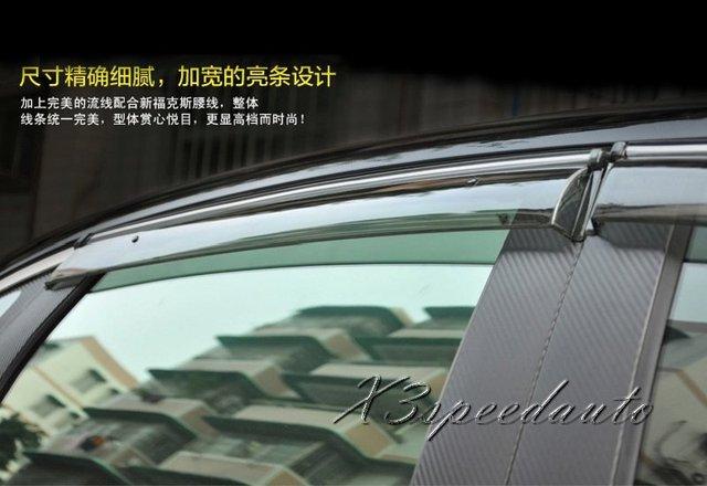 Alta Qualidade 4 PCS Plástico Protetor Janela Viseira Ventilação Para Nissan Teana Altima 2013 2014 2015