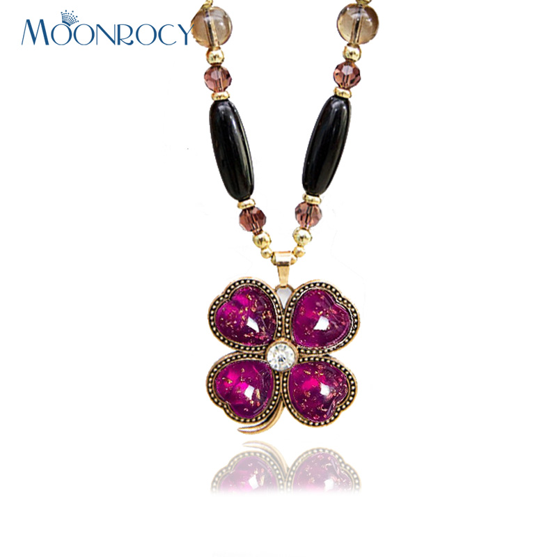 MOONROCY Free Shipping Sweater Chain Fashion Crystal long Chs