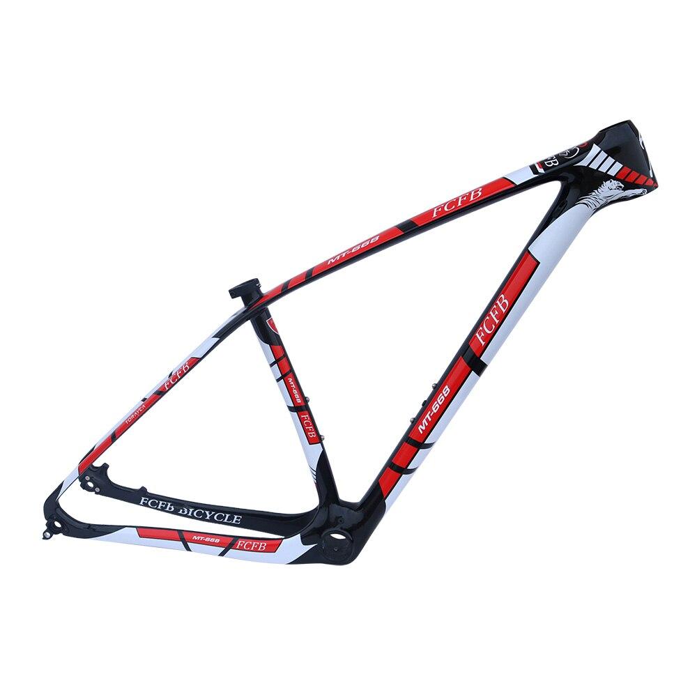 FCFB MTB Carbon Frame15/17/19/21inch Bicycle 29er Carbon Frame Carbon Mountain Bike Frame Disc Carbon Mtb Frame PF30